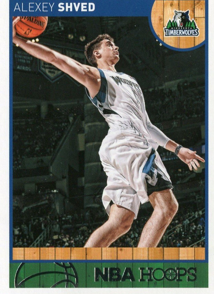 2013 Hoops Basketball Card #167 Alexey Shyed