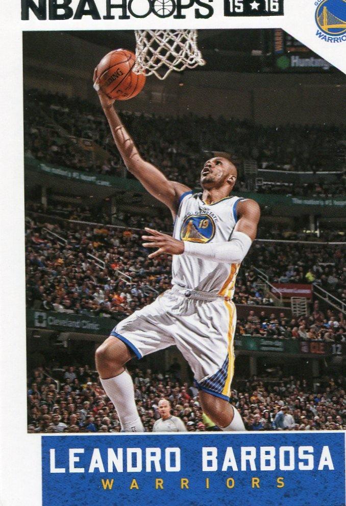 2015 Hoops Basketball Card #253 Leando Barbosa
