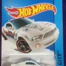 2015 Hot Wheels #49 Ford Mustang GT Concept WHITE