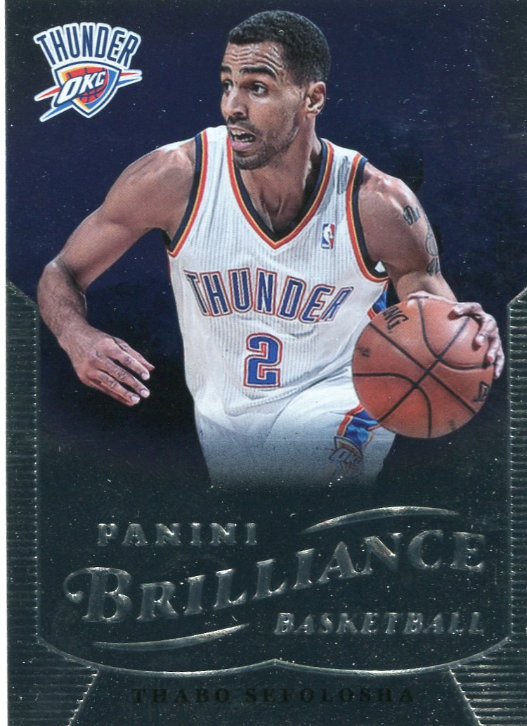 2012 Brilliance Basketball Card #46 Thabo Sefolosha