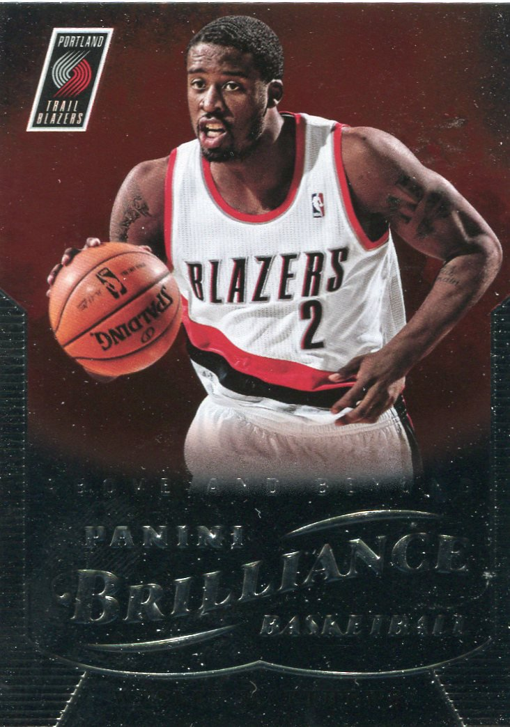 2012 Brilliance Basketball Card #170 Wesley Matthews