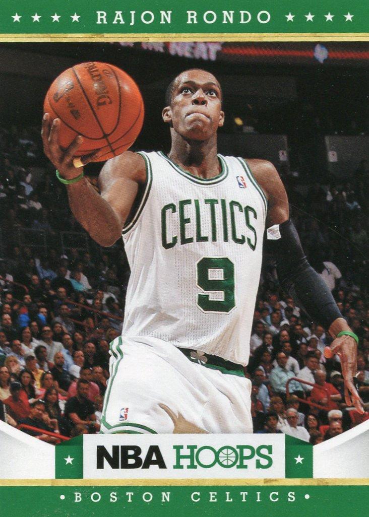2012 Hoops Basketball Card #5 Rajon Rondo