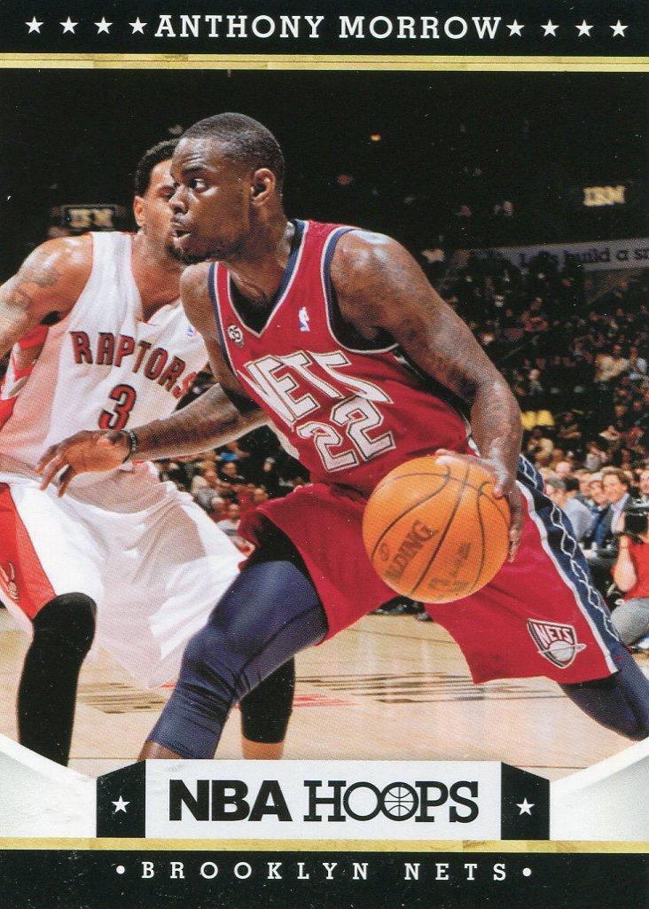2012 Hoops Basketball Card #11 Anthony Monroe
