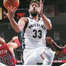 2012 Hoops Basketball Card #52 Marc Gasol