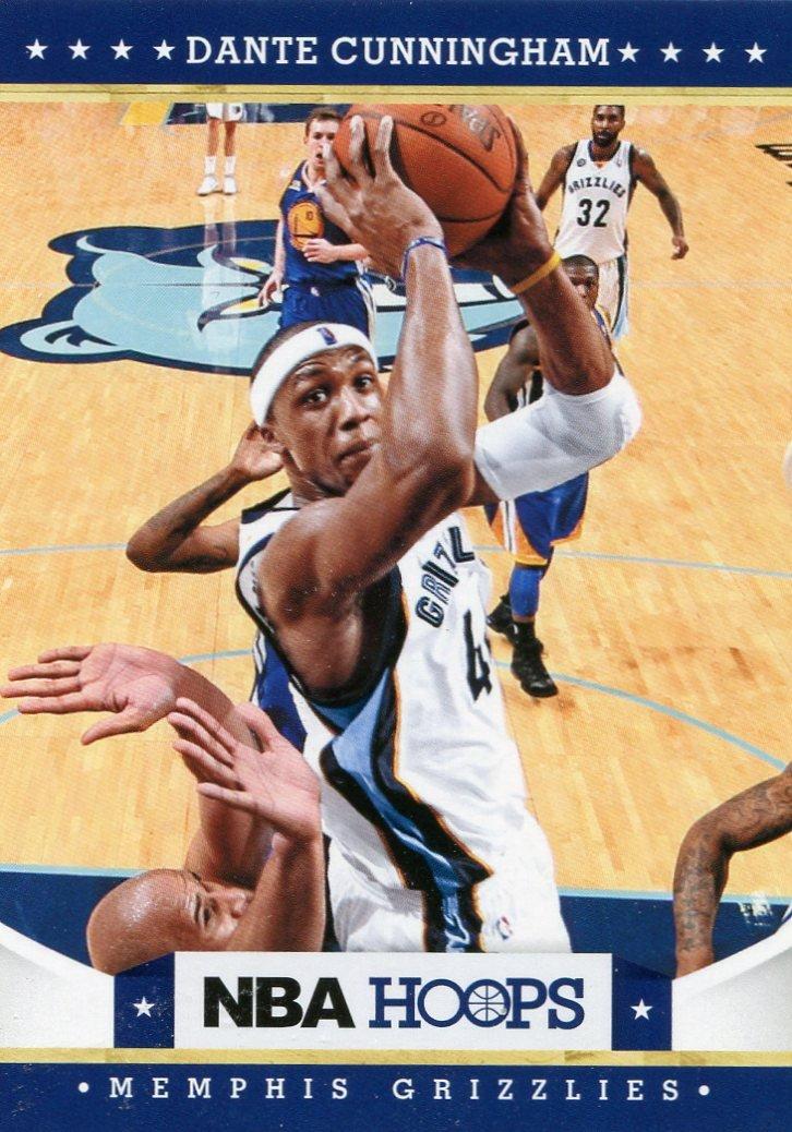 2012 Hoops Basketball Card #58 Dante Cunningham
