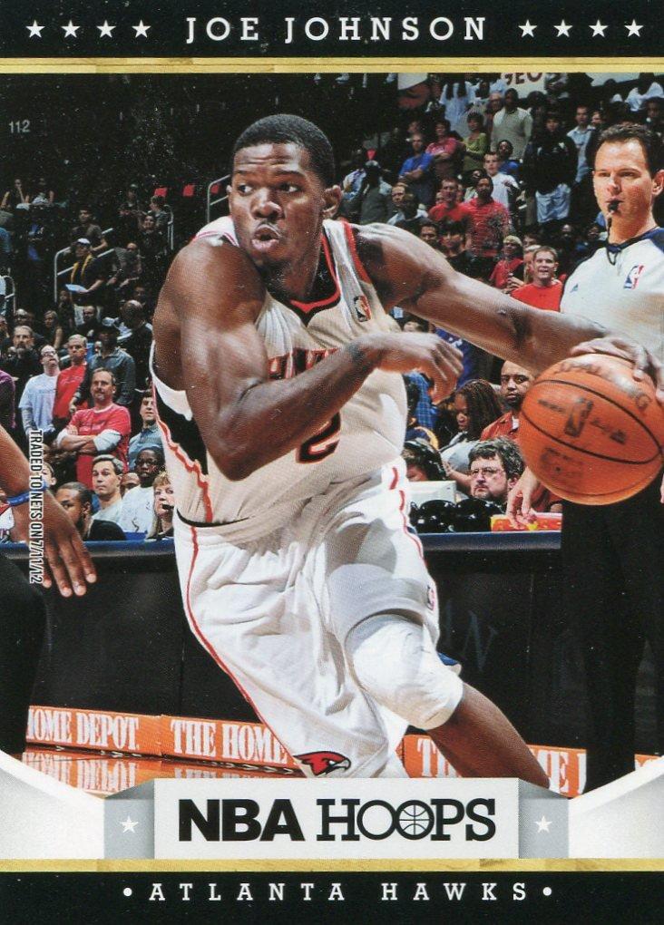 2012 Hoops Basketball Card #150 Joe Johnson