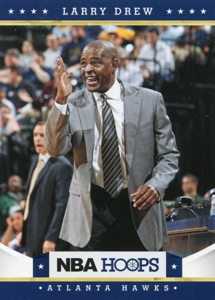 2012 Hoops Basketball Card #155 Larry Drew