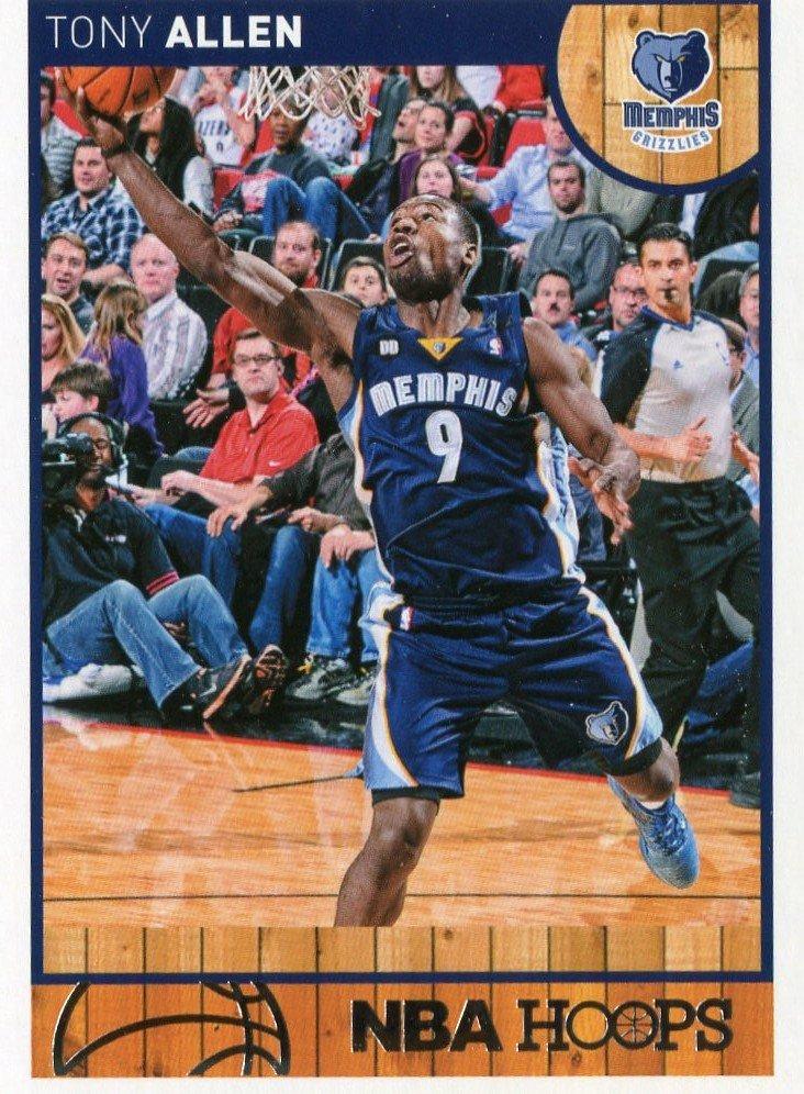 2013 Hoops Basketball Card #191 Tony Allen