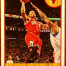 2013 Hoops Basketball Card #182 Derrick Rose