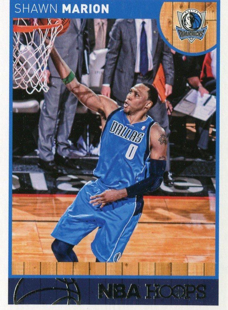 2013 Hoops Basketball Card #196 Shawn Marion