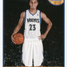 2013 Hoops Basketball Card #208 Kevin Martin