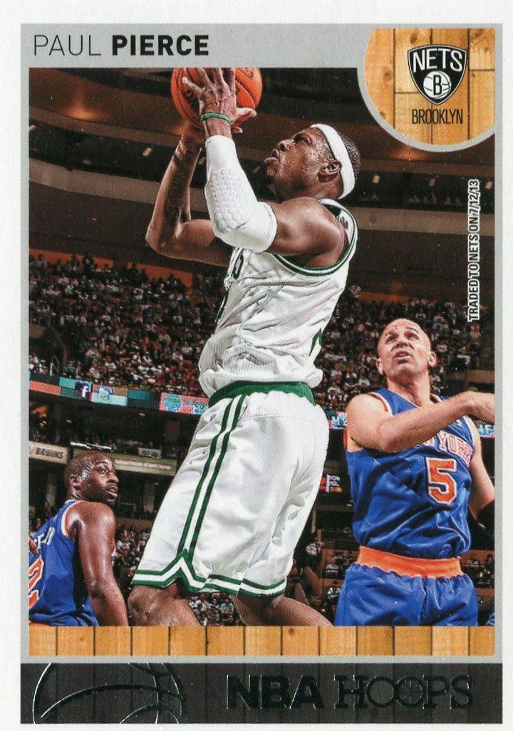 2013 Hoops Basketball Card #200 Paul Pierce