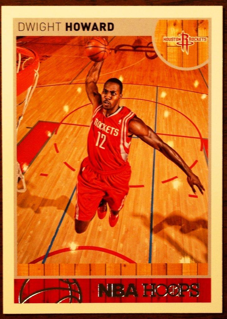 2013 Hoops Basketball Card #214 Dwight Howard