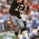 1991 Pro Set Platinum Football Card #1 Chris Miller