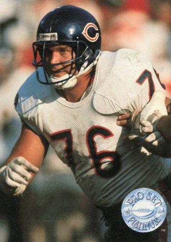 1991 Pro Set Platinum Football Card #14 Steve McMichael