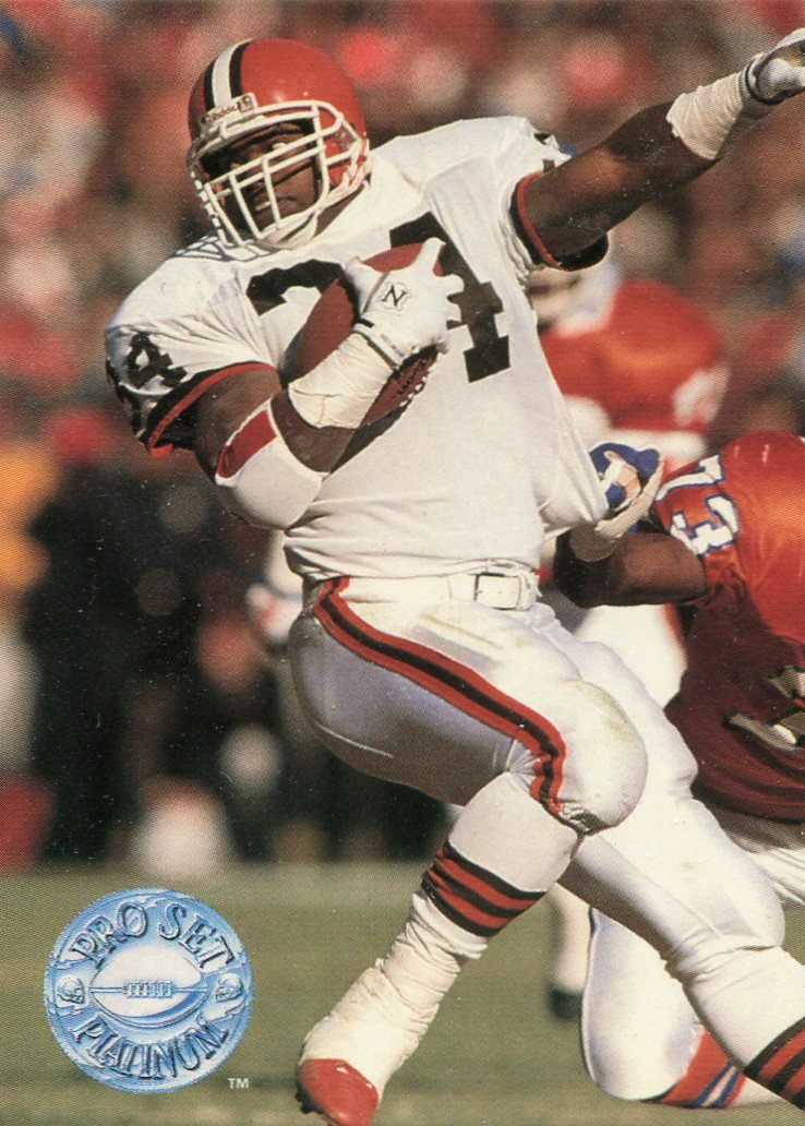 1991 Pro Set Platinum Football Card #21 Kevin Mack