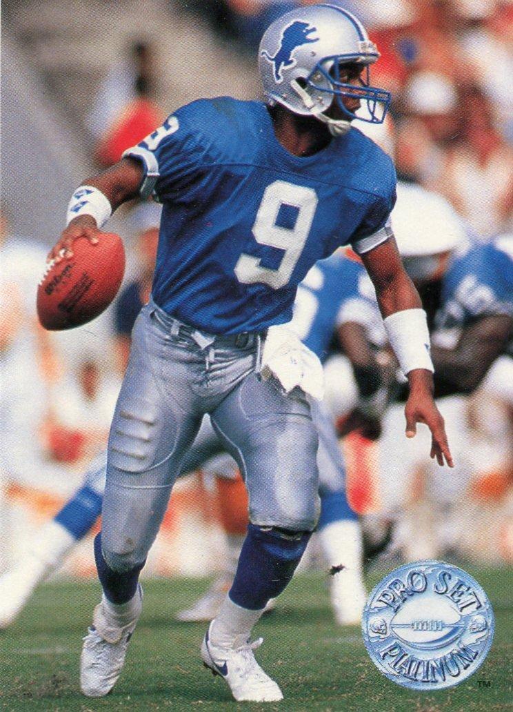 1991 Pro Set Platinum Football Card #32 Rodney Peete