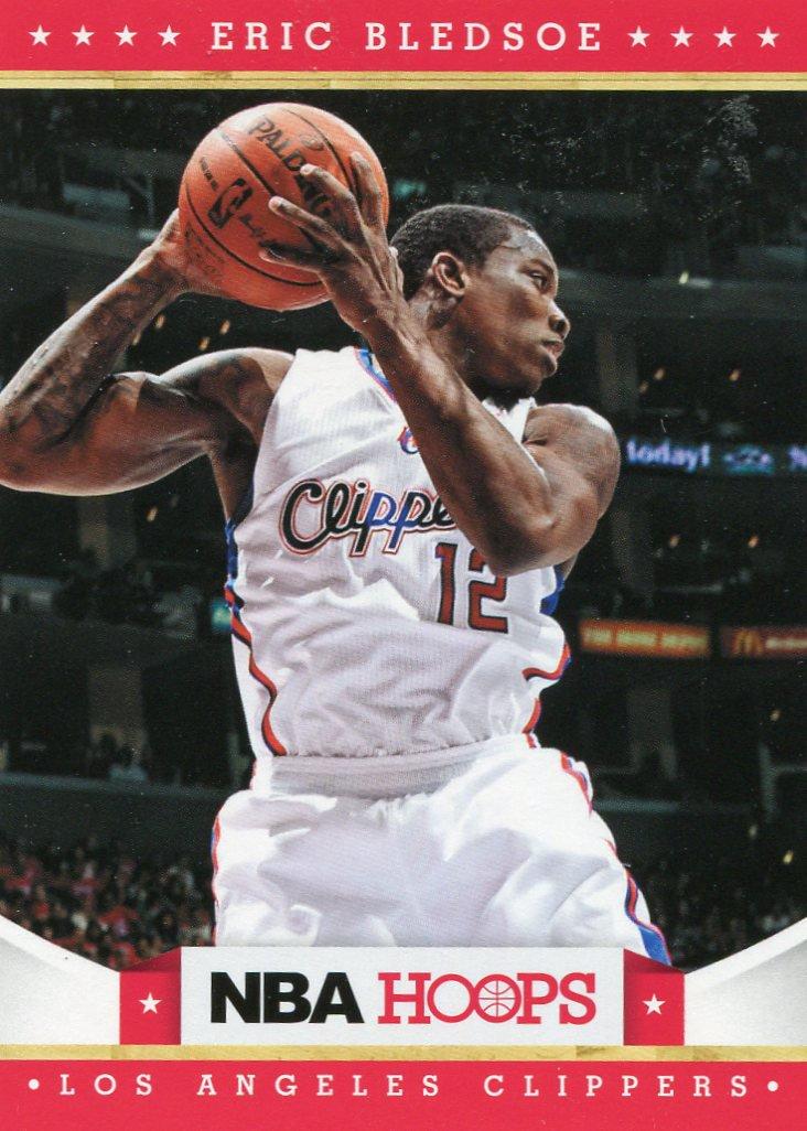 2012 Hoops Basketball Card #192 Eric Bledsoe