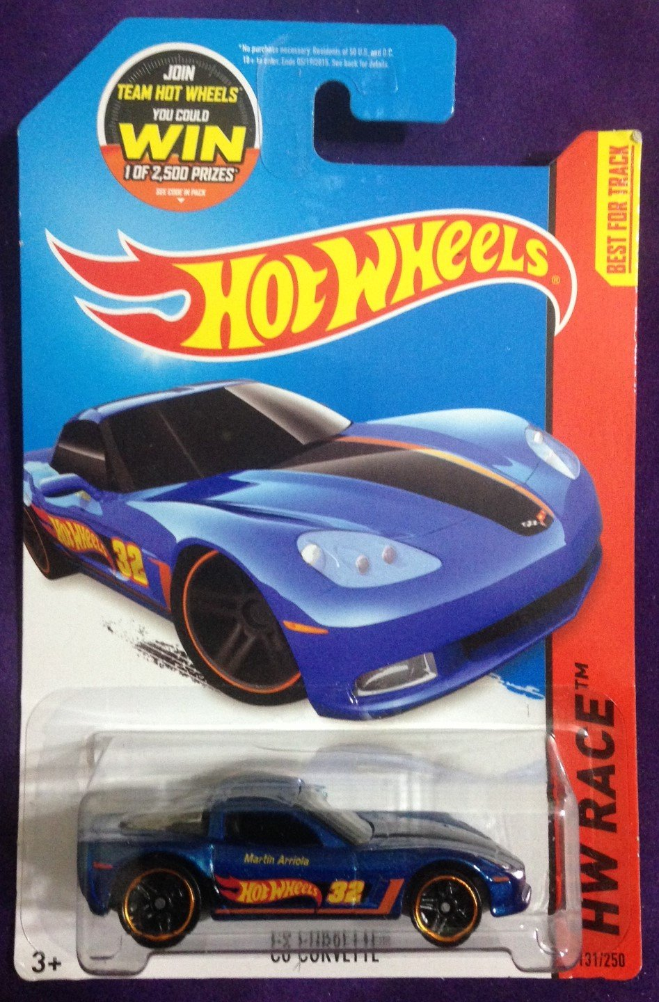 2015 Hot Wheels #131 C6 Corvette