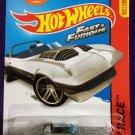 2015 Hot Wheels #179 Silver Corvette Grand Sport Roadster