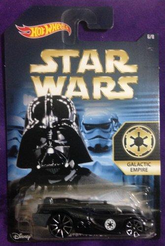 "2015 Hot Wheels Star Wars #6 Prototype H-24 ""Galactic Empire"""