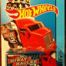 2014 Hot Wheels #6 Hiway Hauler RED