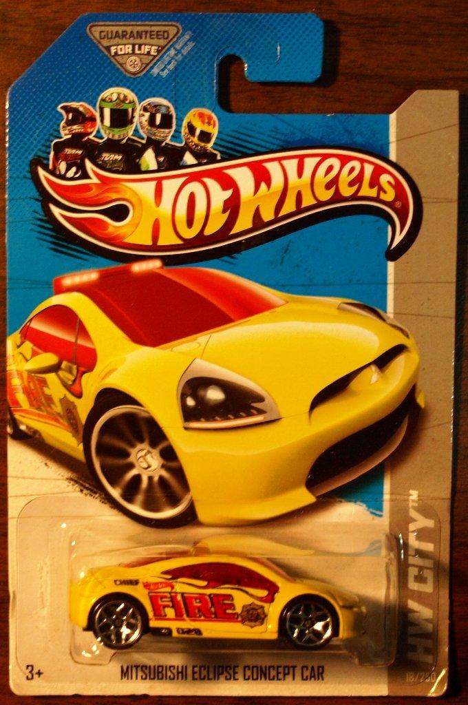 2013 Hot Wheels #18 Mitsubishi Eclipse Concept Car
