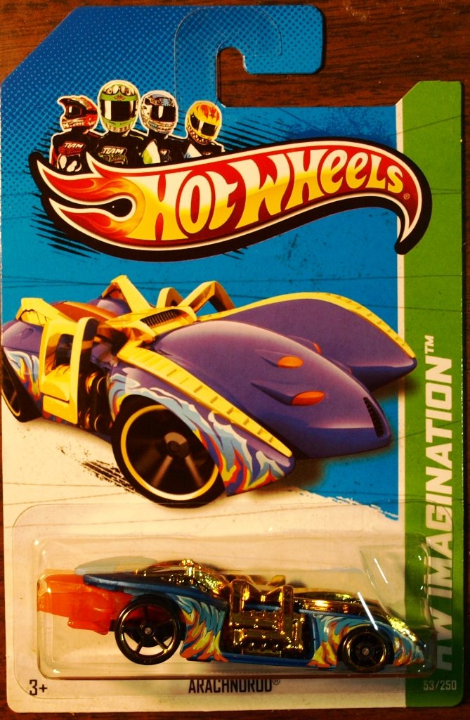 2013 Hot Wheels #53 Arachnorod