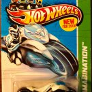 2013 Hot Wheels #59 Max Steel Motorcycle