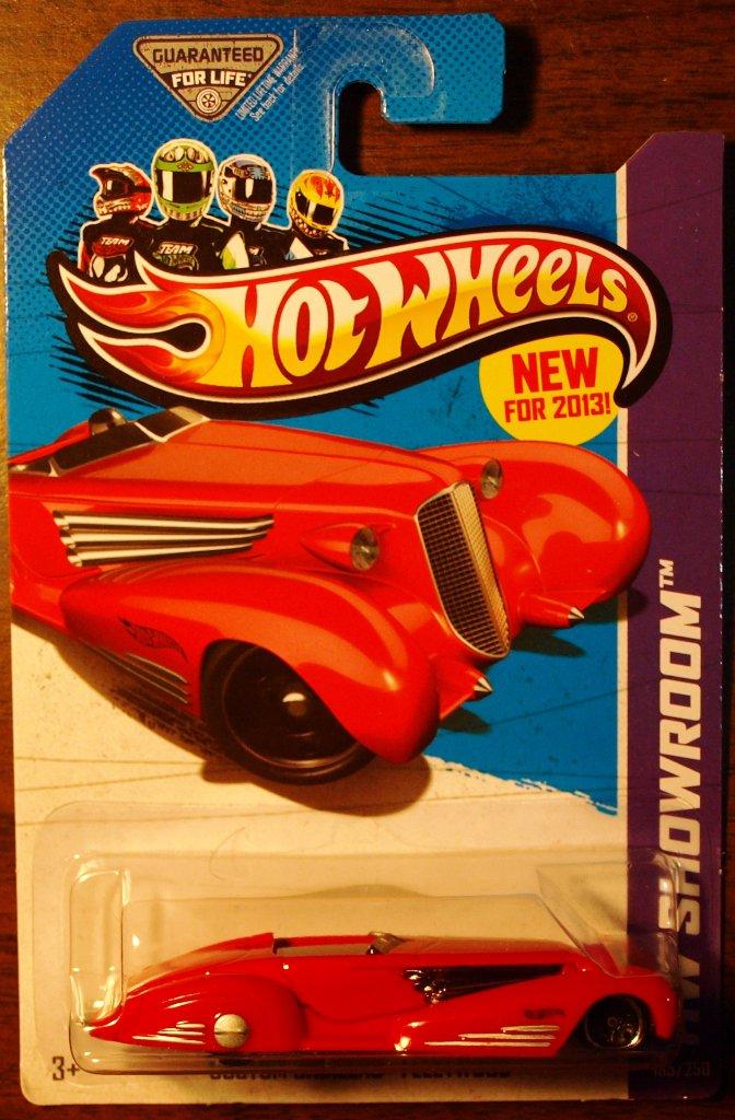 2013 Hot Wheels #185 Custom Cadillac Fleetwood