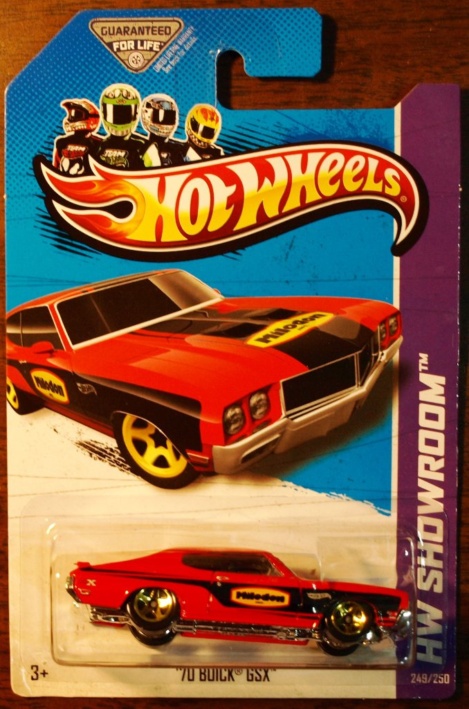 2013 Hot Wheels #249 70 Buick GSX RED