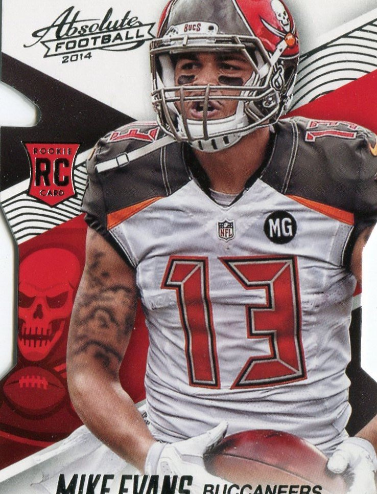 2014 Absolute Football Card #144 Mike Evans