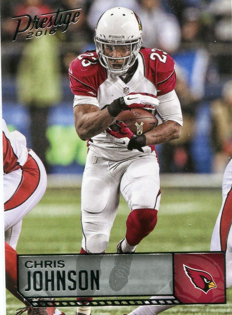 2016 Prestige Football Card #2 Chris Johnson