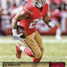 2016 Prestige Football Card #167 Carlos Hyde