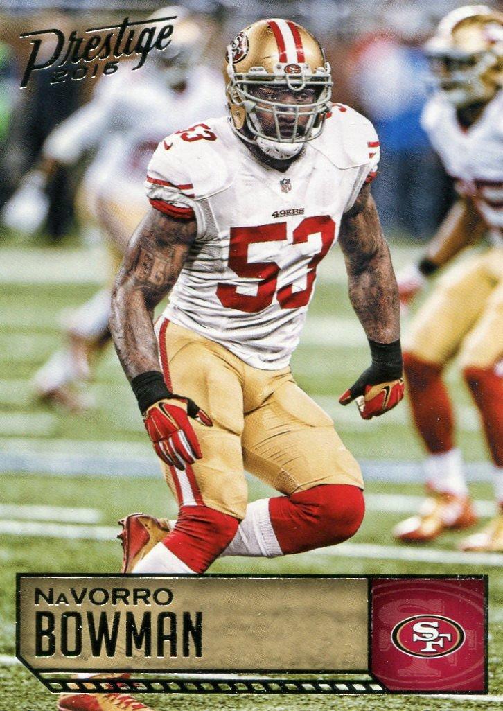 2016 Prestige Football Card #170 NaVorro Bowman