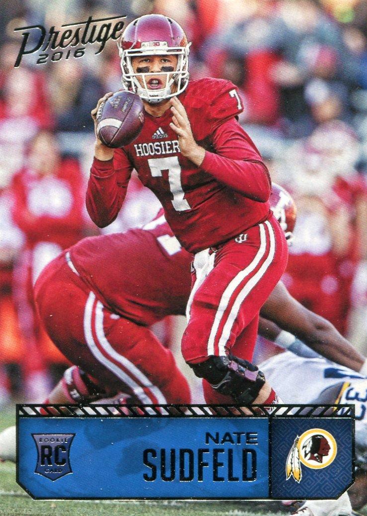 2016 Prestige Football Card #210 Nate Sudfeld