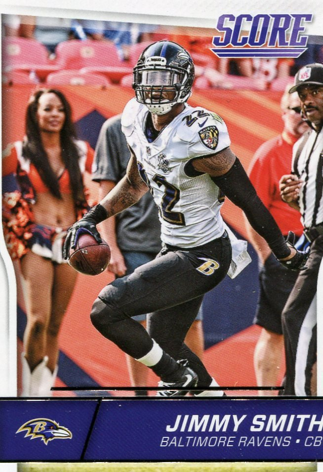 2016 Score Football Card #29 Jimmy Smith