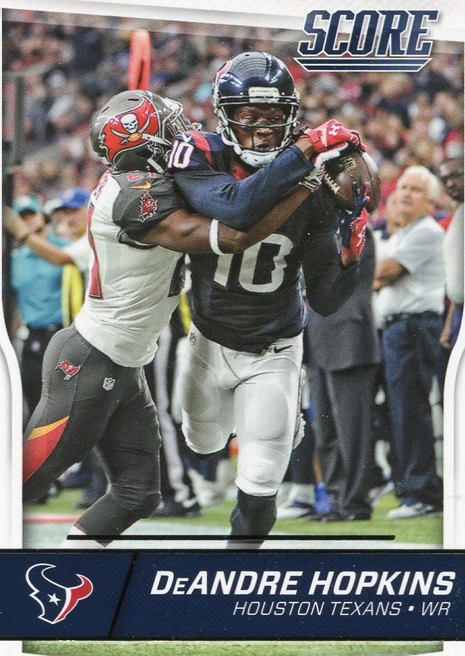 2016 Score Football Card #131 DeAndre Hopkins