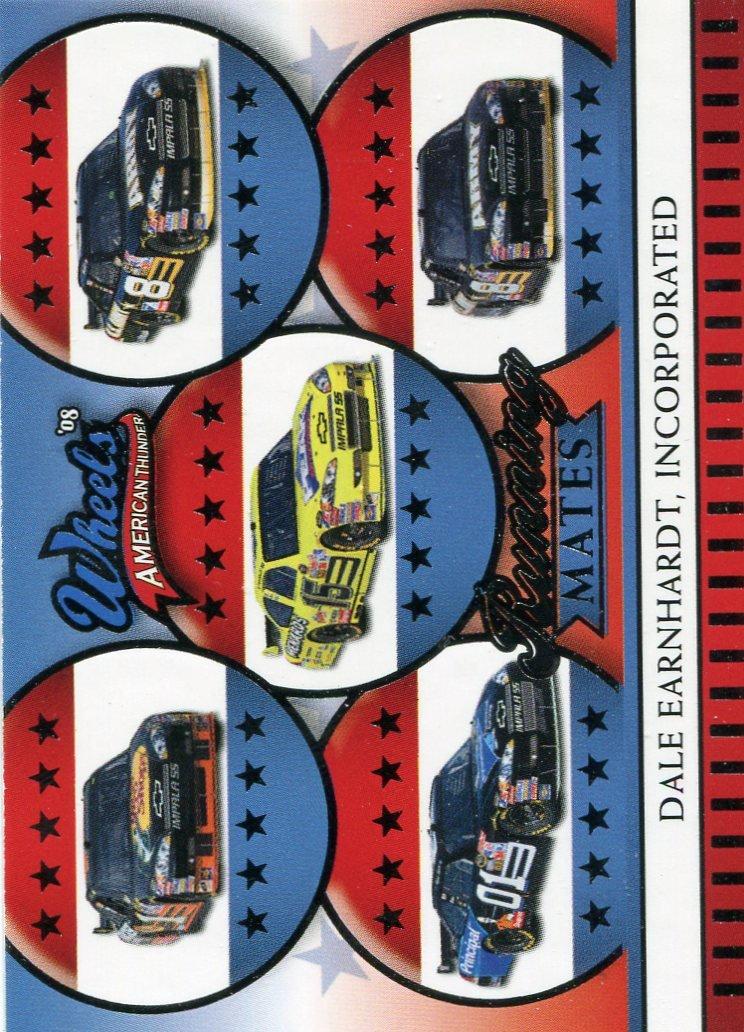 2008 Wheels American Thunder Racing Card #37 Dale Earnhardt Inc