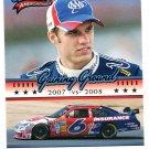 2008 Wheels American Thunder Racing Card #68 David Ragan