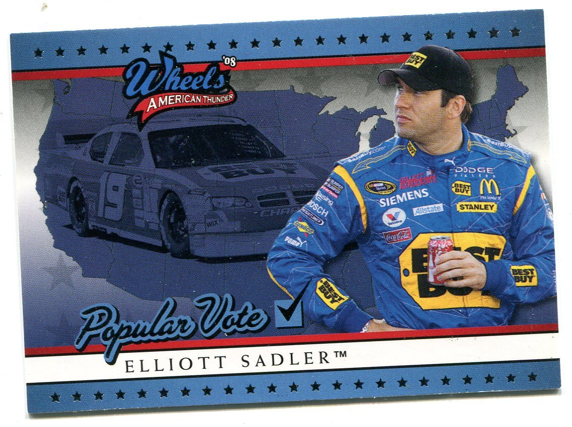 2008 Wheels American Thunder Racing Card #82 Elliot Sadler