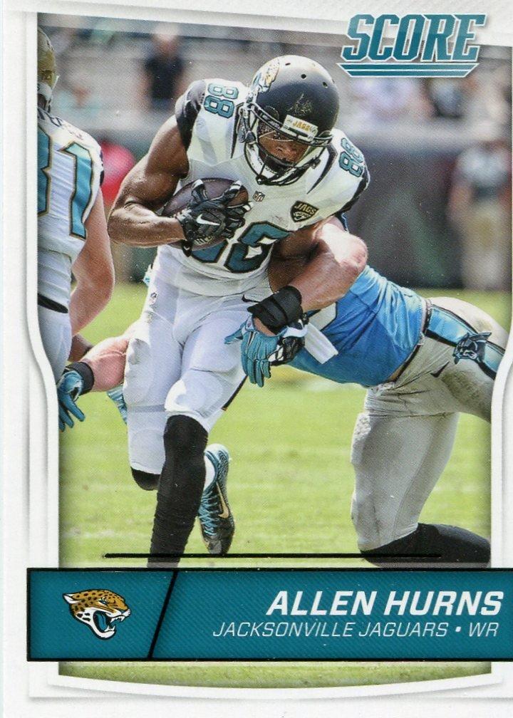 2016 Score Football Card #152 Allen Hurns