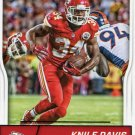 2016 Score Football Card #161 Knile Davis