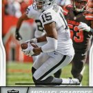2016 Score Football Card #232 Michael Crabtree