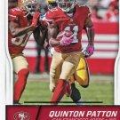2016 Score Football Card #277 Quinton Patton