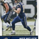 2016 Score Football Card #294 Wes Walker