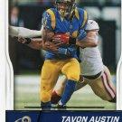 2016 Score Football Card #295 Tavon Austin