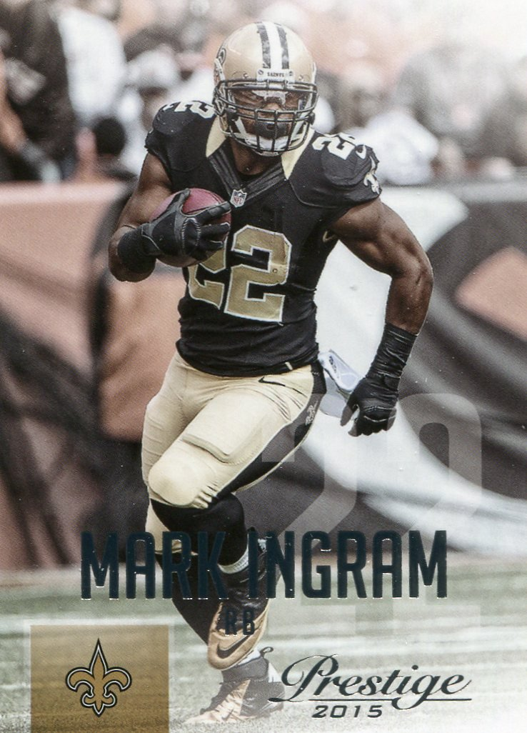 2015 Prestige Football Card #146 Mark Ingram