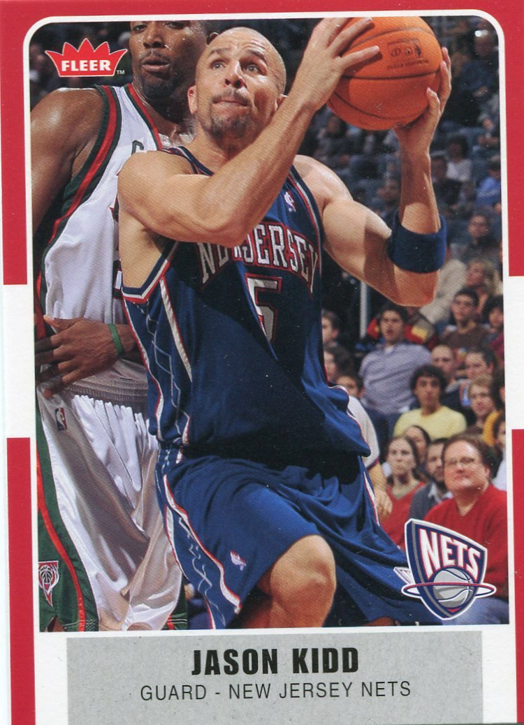 2007 Fleer Basketball Card #38 Jason Kidd