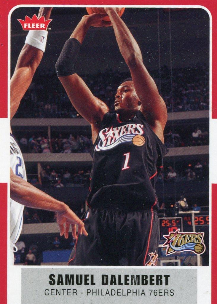 2007 Fleer Basketball Card #66 Samuel Dalembert